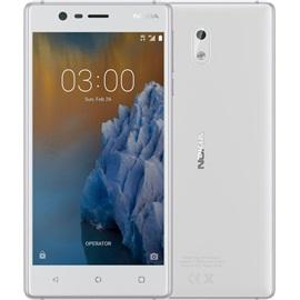 Nokia 3 Dual SIM; STŘÍBRNÁ BÍLÁ