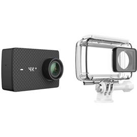 Kamera Xiaomi Yi 4K+ (4K Plus) s vodě odolným pouzdrem; ČERNÁ