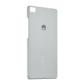 Pouzdro Huawei P8 Lite; SVĚTLE ŠEDÁ