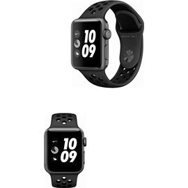 Apple Watch Series 3 Nike+ 38mm (MQKY2); VESMÍRNĚ ŠEDÉ A ČERNÝ ŘEMÍNEK