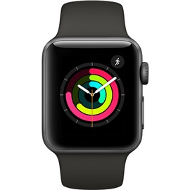 Apple Watch Series 3 38mm (MR352); ŠEDÉ A ŠEDÝ ŘEMÍNEK