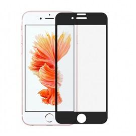 Tvrzené sklo Apple iPhone 8 3D; ČERNÁ
