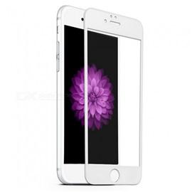 Tvrzené sklo Apple iPhone 6S 3D; BÍLÁ