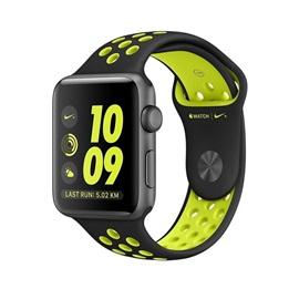 Apple hodinky Nike+ Series 2 (MP082) 38mm; ŠEDÁ a černý řeminek