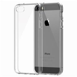 Transparentní silikonové pouzdro pro Apple iPhone 5, 5S, SE