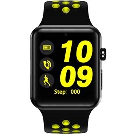 Chytré hodinky V Watch 2 - W52; ČERNO-žlutý řemínek