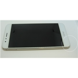 Honor 8 32GB Dual SIM; BÍLÁ - nedokonalé lepení zadního krytu a LCD