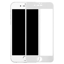 Tvrzené sklo Apple iPhone 7; BÍLÁ