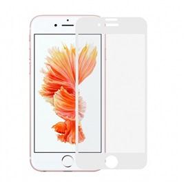Tvrzené sklo Apple iPhone 8 3D; BÍLÁ