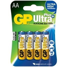 GP AA Ultra Plus; ALKALICKÁ - 4 ks