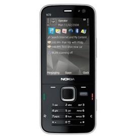 Nokia N78; ČERNÁ