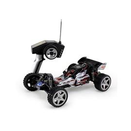 RCTop high speed Buggy 40km/h černo-stříbrná 1:12