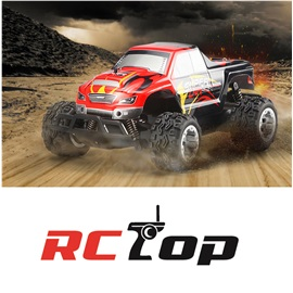 RCTop 2WD Monster speed car 25Km/h 1:24