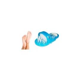 Čistící pantofle do koupele Easy Feet Modré