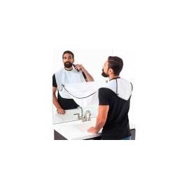 Zástěra na holení s přísavkami
