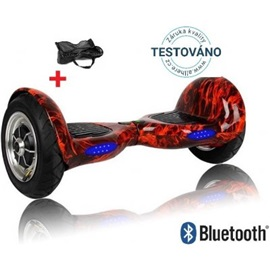 "Hoverboard EcoWheel 10"" Offroad - Ohnivá"