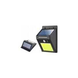 Solární venkovní 48 LED COB osvětlení s pohybovým