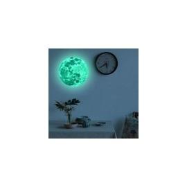 Master Samolepka na zeď svítící měsíc 20 cm