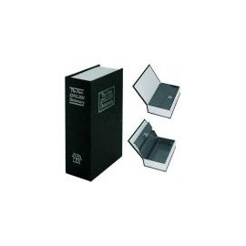 Kniha sejf černá