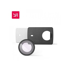 Xiaomi YI 4K Action Camera Case and lens