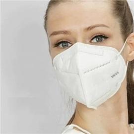 EcoWheel respirátor KN95 bílá 50 ks