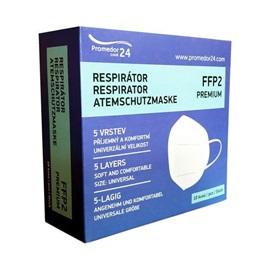 Promedor24 Respirátor FFP2 PREMIUM 10 ks