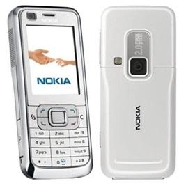 Nepatrné kosmetické vady - Nokia 6120 classic; STŘÍBRNÁ