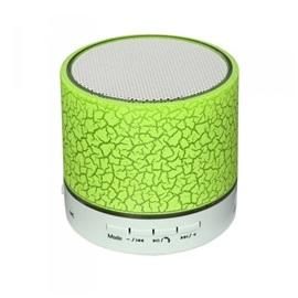LED mini bluetooth reproduktor, zelená